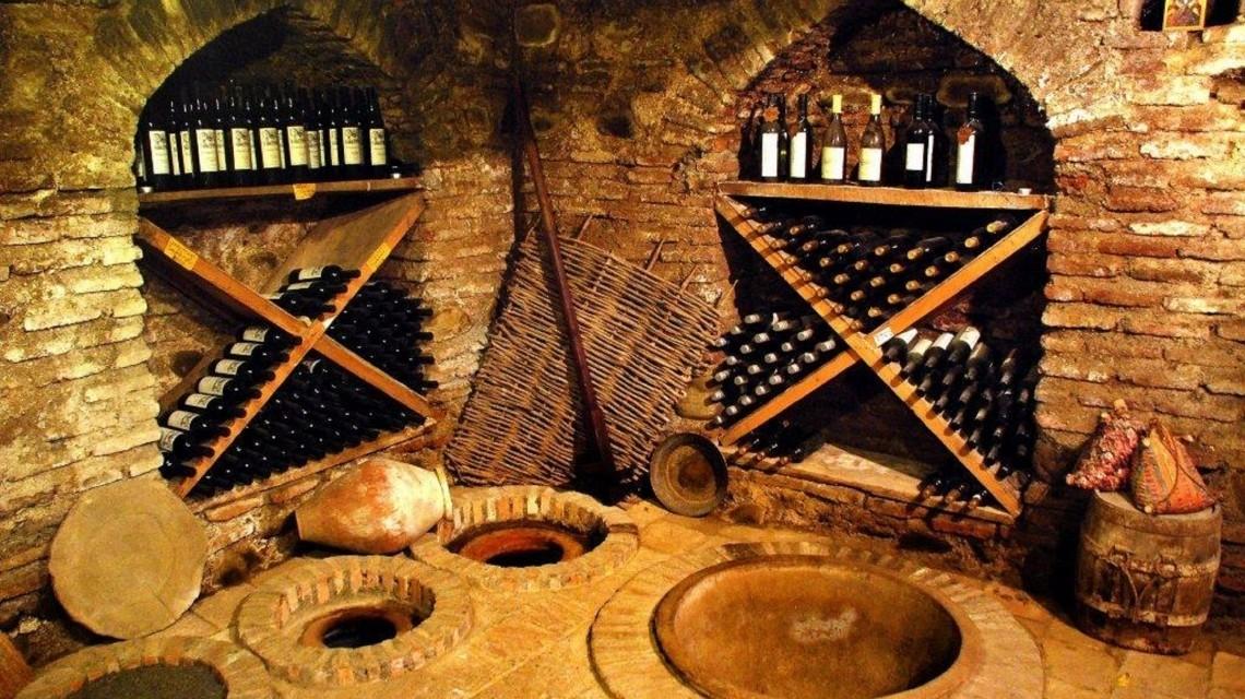 Weinkeller in Georgien