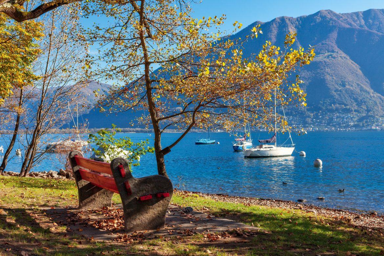 Locarno, Lago Maggiore, Herbst