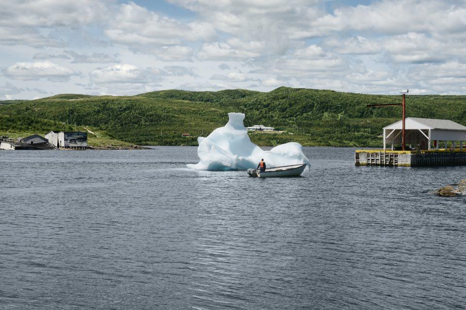 Red Bay Harbor, Labrador, Kanada