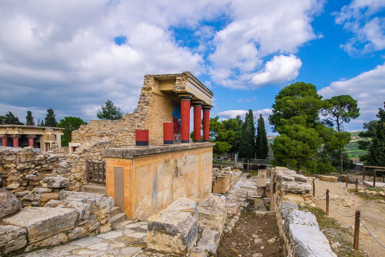 Knossos Palast, Heraklion, Kreta, Griechenland