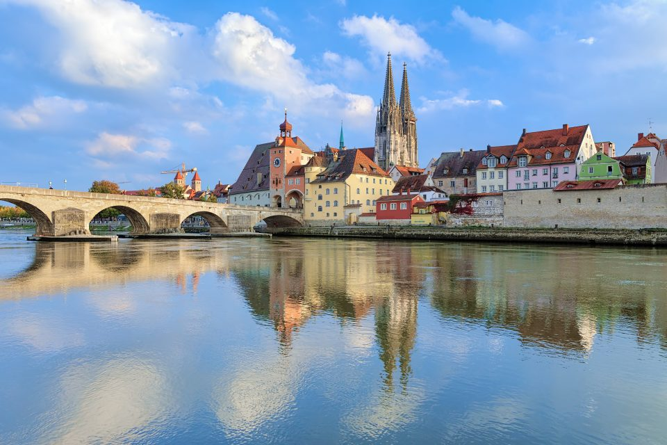 Donaubrücke, Regensburg