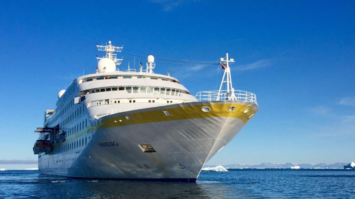 MS Hamburg, Groenland