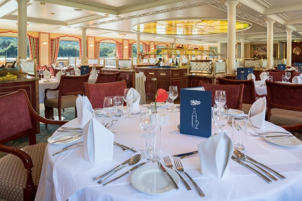 MS Casanova, Panorama-Restaurant
