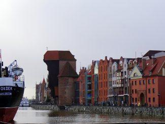 Danzig, Hafen Winter
