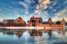 Die Marienburg im Winter