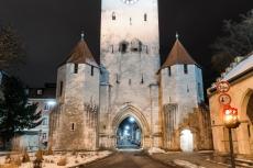 Regensburg im Winter