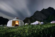 Jurten Camp (Foto: Ross Hilier)