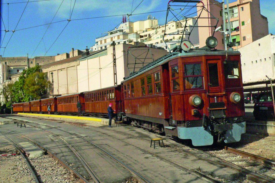 Tren de Sóller - Der rote Blitz - auf Mallorca