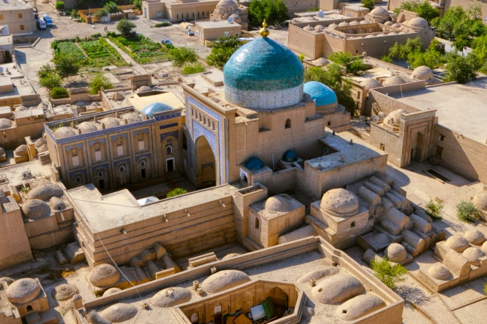 Juma Moschee in Xiva Uzbekistan