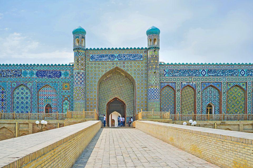Der Khanspalast in Kokand