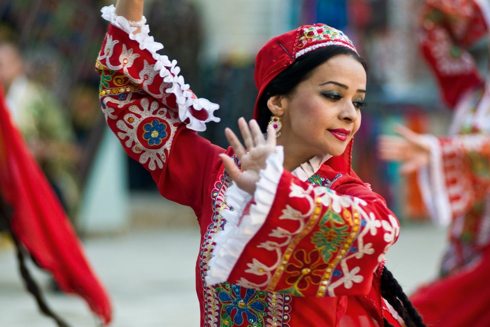 Folklore in Buchara