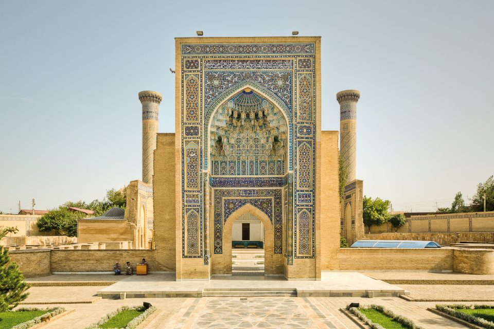 Gur-Emir Mausoleum in Samarkand