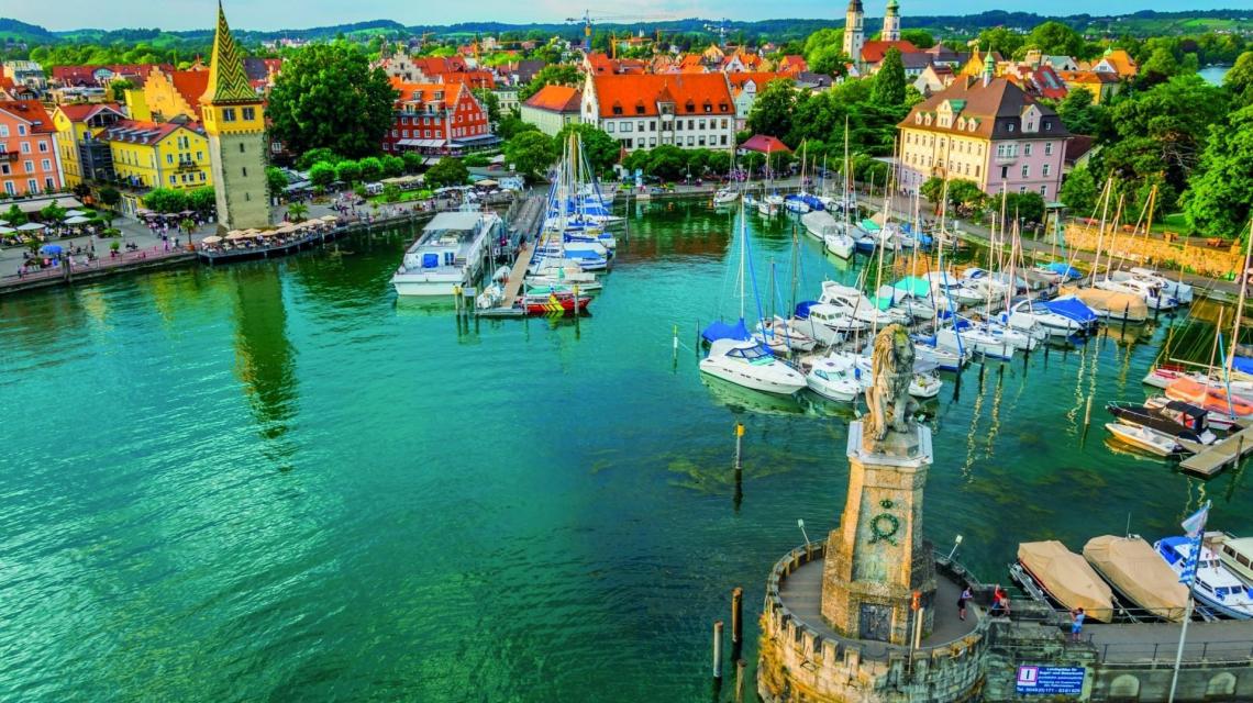 Blütenpracht, Erlebnis und Wein am Bodensee