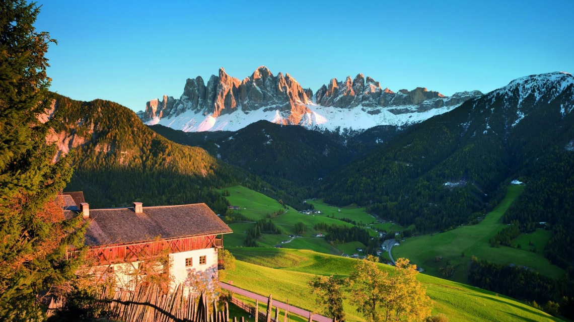 Geislerspitzen in Villnöß - Südtirol