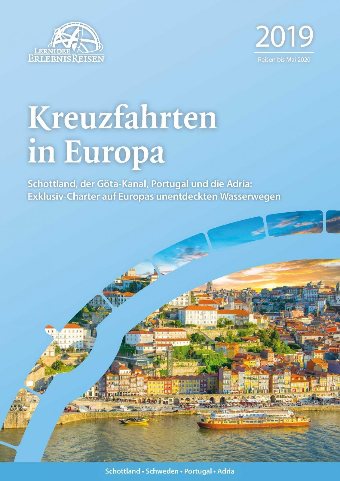 Kreuzfahrten in Europa 2019