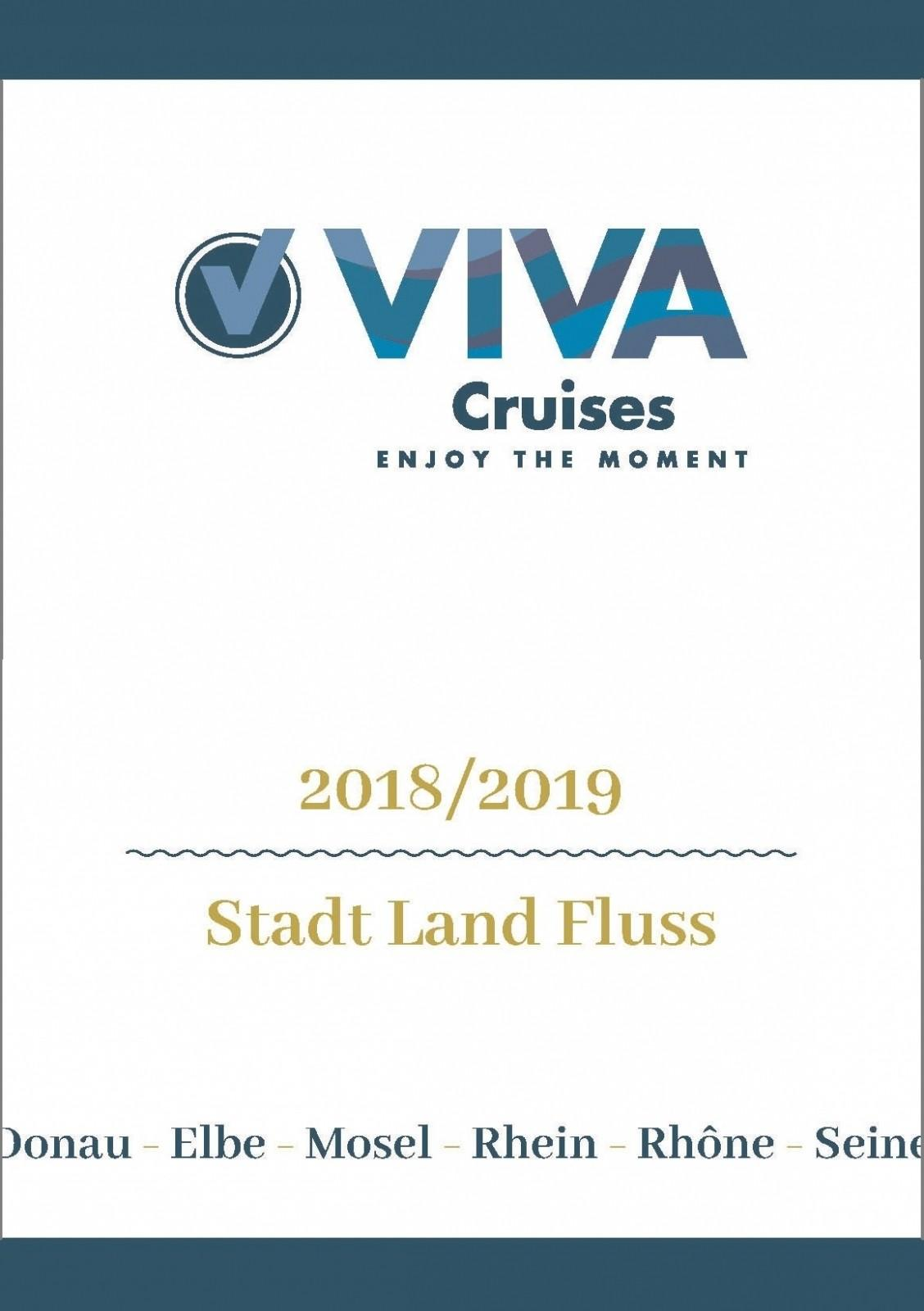 Viva Cruise Fluss-Kreuzfahrten 2019/2020