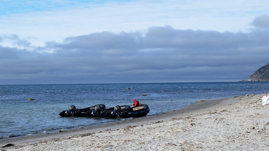 Zodiacfahrt Spitzbergen