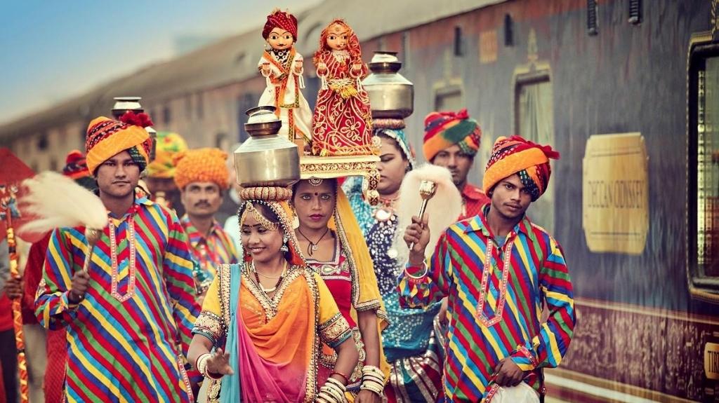 Die Magie Indiens Auf Schienen durch das Märchenland der Maharadschas