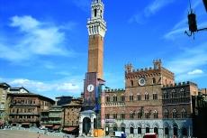 Piazza Majore in Siena