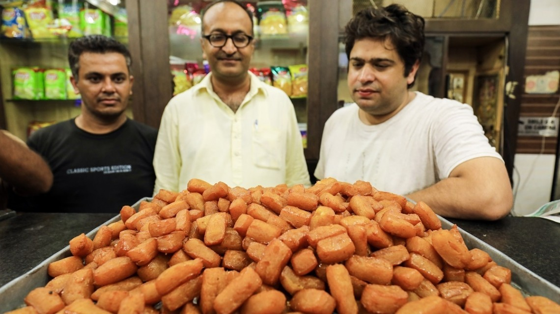 Süßigkeiten in Pujab