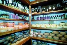 Käse und Öl - Toskana