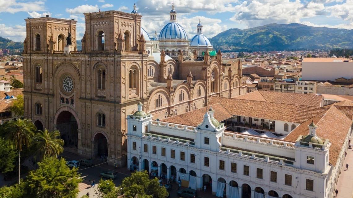Kathedrale von Cuenca in Ecuador