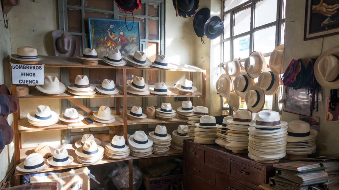 Verkauf von Panamahütte in Cuenca Ecuador