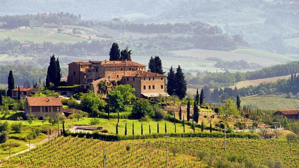 Landschaft - Toskana