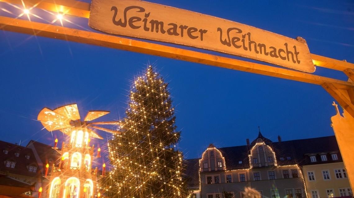 Weihnachtsmarkt in WeimarAufnahme: Maik Schuck / Weimar
