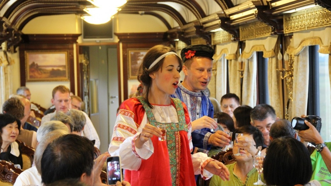 """Mit dem Transsibirien Express """"Katharina die Große"""" vom Reich der Mitte ins Herzen Russlands"""