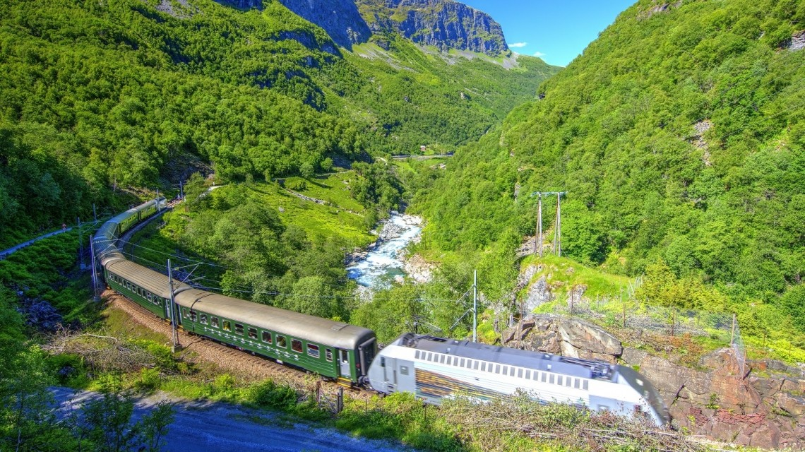Flam Bahn in Norwegen