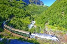 Flam Bahn in Norwegen (Shutterstock)