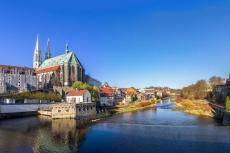 Spätgotische Pfarrkirche St. Peter und Paul in Görlitz an der Neisse