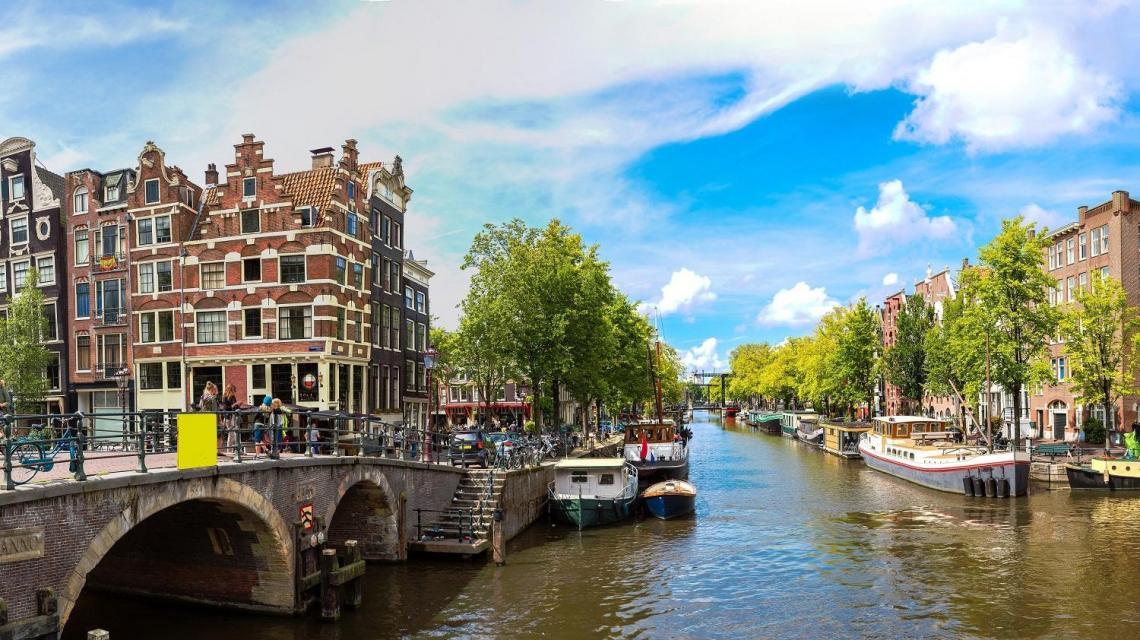 Die Grachten von Amsterdam | Niederlande