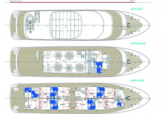 MV Moonlight - Deckplan