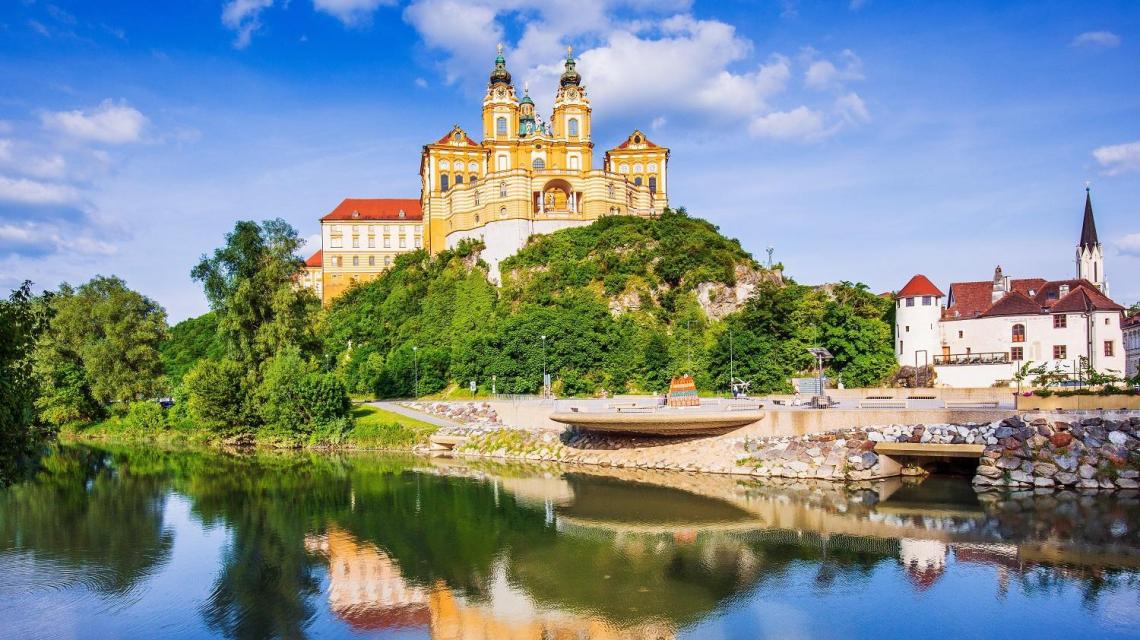 Das Stift in Melk an der Donau | Österreich
