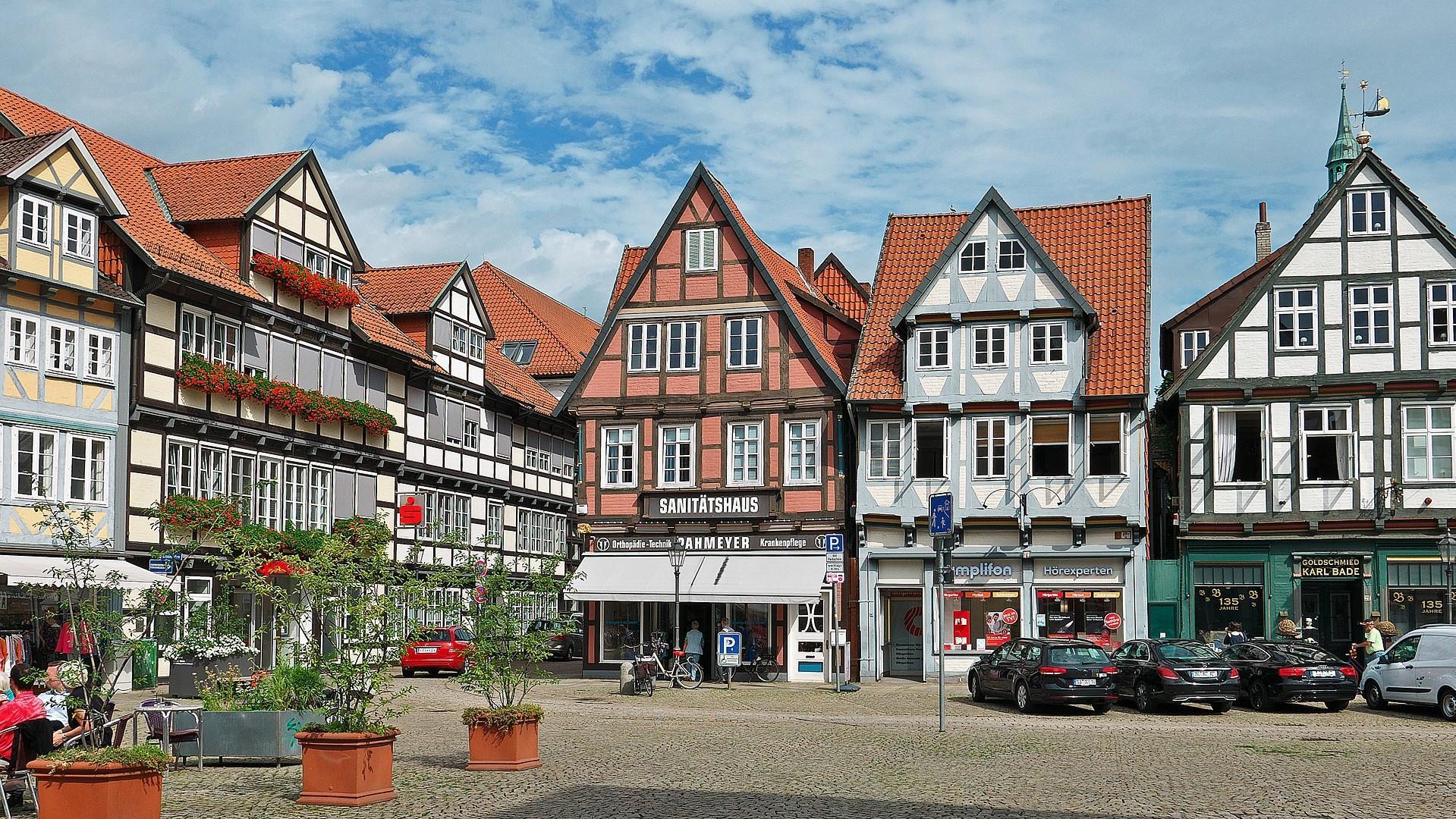 Marktplatz von Celle