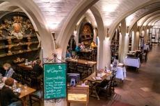 Historisches Gewölbe im Bremer Ratskeller