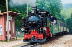 Fichtelbergbahn in Kretscham