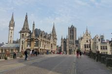 Die Innenstadt von Gent | Belgien