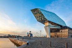 Die Hafenmeisterei in Antwerpen - Belgien