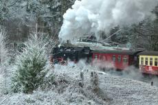 Harzer Schmalspurbahnen im Winter
